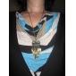 Муж. Ожерелья с подвесками Винтаж Ожерелья Сплав Мода Золотой Бижутерия Повседневные Новогодние подарки