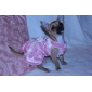 Dog Dress Purple / White / Pink Dog Clothes Summer Solid Wedding