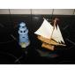 Деревянные украшения Boat Sailing