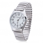 Unisex Alloy Analog Quartz Wrist Watch (Silver) Cool Watch Unique Watch Fashion Watch