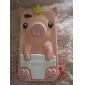 Cute Pig Style Protective Silicone Case for iPhone 4 and 4S (Assorted Colors)