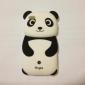 Sött Panda-skal i Silikon för iPhone 4/4s (Flerfärgat)