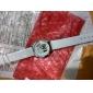 Orologio al quarzo con cinturino in PU, da donna - Bianco