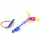 LED Flying Helicopter Umbrella Jet Rubber Dragonfly (2 colors LED / 1 Set)