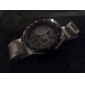 Men's Watch Quartz Silver Alloy Band Dress Watch