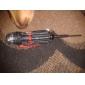 Multi-Function Åtta skruvmejsel med 3 LED-ficklampa Tool Knife