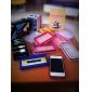 Etui Antichocs Elégant pour iPhone 4 - Blanc Transparent, Rose