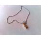 eruner®titanium 스틸 금 움직일 수있는 사람의 목걸이