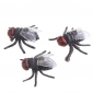 mouches en caoutchouc réalistes
