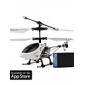 iHelicôptero 777-172 com Gyro para iPhone/iPad/iPod Touch (Branco)