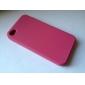 아이폰4용 실리콘 보호케이스 (핑크)