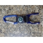 Water Bottle Locking Carabiner with Compass