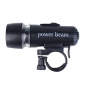 Power Beam Bike Flashlight with Mount (3xAAA)