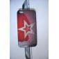rétro étoiles de style modèle de drapeau étui rigide pour iPhone 4 et 4s