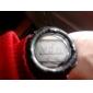 Vattentätt Soldrivet Unisex Armbandsur med Stoppur och Alarm (Svart)