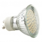 GU10 2.5W 180LM 60x3528smd натуральный белый свет водить пятна лампы (220-240V)