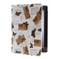 Butterfly Pattern PU Leather Case with Stand for iPad 2/3/4