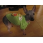 Reindeer Pattern Cotton Pet T-Shirt for Dogs(XS-L)