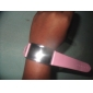 Women's Red LED Digital Pink PU Band Wrist Watch Cool Watches Unique Watches