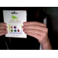 Главная кнопка наклейки для IPhone, IPad и ставку (6 пакет, полосы)