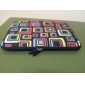 "Bright Square Neoprene Laptop Sleeve Case for 10-15"" iPad MacBook Dell HP Acer Samsung"