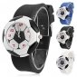 Children's Quartz Analog Football Style Dial Silicone Band Wrist Watch (Assorted Colors)