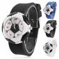 quartzo analógico futebol estilo de marcação silicone banda relógio de pulso das crianças (cores sortidas)