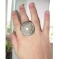 anneaux ronds en alliage de perles
