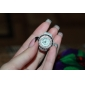 Elegant Round Case Ring Watch