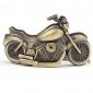 Motorrad Schlüsselbund Uhr