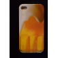 Beer Bubble Pattern Hard Case for iPhone 4/4S