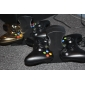 Dual Charging Station for Xbox 360 Wireless Controller with 2 rechargeable batteries (Black)