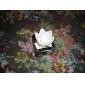 (3xAG13) مصباح شكل زهرة اللوتس ملونة ضوء ليلي جذاب