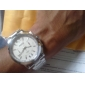 Men's Business 8099 Alloy Analog Quartz Wrist Watch (Silver) Cool Watch Unique Watch