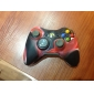 Protective Dual-Color Silicone Case for Xbox 360 Controller (Black and Red)