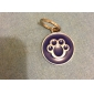 Dog tags/Dog Paw Style Dog Name Tag (Assorted Colors)