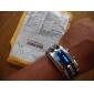 Masculino Relógio de Pulso Único Criativo relógio LED Calendário Digital Aço Inoxidável Banda Prata