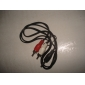 3.5mm Audio Jack (Male) to RCA Audio kabel (1.5m)