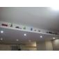 6W GU10 Faretti LED MR16 3 LED ad alta intesità 310 lm Bianco Intensità regolabile AC 220-240 V