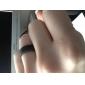 Кольца Others Уникальный дизайн Мода Повседневные Бижутерия Сплав Мужчины Классические кольца 1шт,8 Черный Серебряный