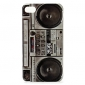 Unique Cassette Recorder Pattern Protective Case for iPhone 4 and 4S