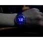 Синие светодиодные часы с керамическим ремешком для мужчин и женщин