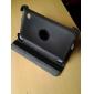 360 graus de rotação de lichia textura estojo de couro pu com suporte para Samsung Galaxy tab2 7,0 P3100 (preto)