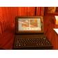 Bluetooth 3.0 QWERTY-Tastatur mit Fall Halter für Samsung Galaxy Tab2 P3100