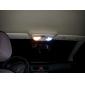 42 milímetros 1.5W 4x5050 80lm SMD luz branca levou lâmpada para lâmpadas para automóveis canbus interior (2-pack, 12V DC)