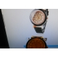 Кварцевые наручные часы с силиконовым ремешком, украшены чешскими кристаллами