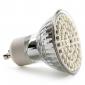 GU10 3W 200-300LM 6000-6500K 자연흰색 LED 스팟 전구 (230V)