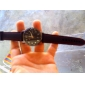 Masculino Relógio de Pulso Quartz Silicone Banda Preta marca-