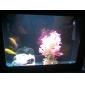 "8"" Plastic Pink Plant Decoration Ornament for Aquarium"