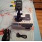 HD 흔들림 방지 4x디지털 줌 나이트 뷰 자동차 카메라 DVR 캠코더 레코더(LCD 2.0 인치)